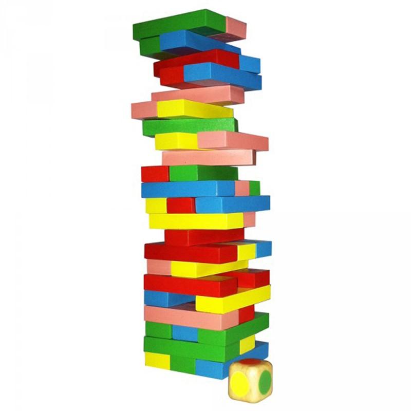 Đồ chơi gỗ cho bé Rút gỗ sắc màu XH11