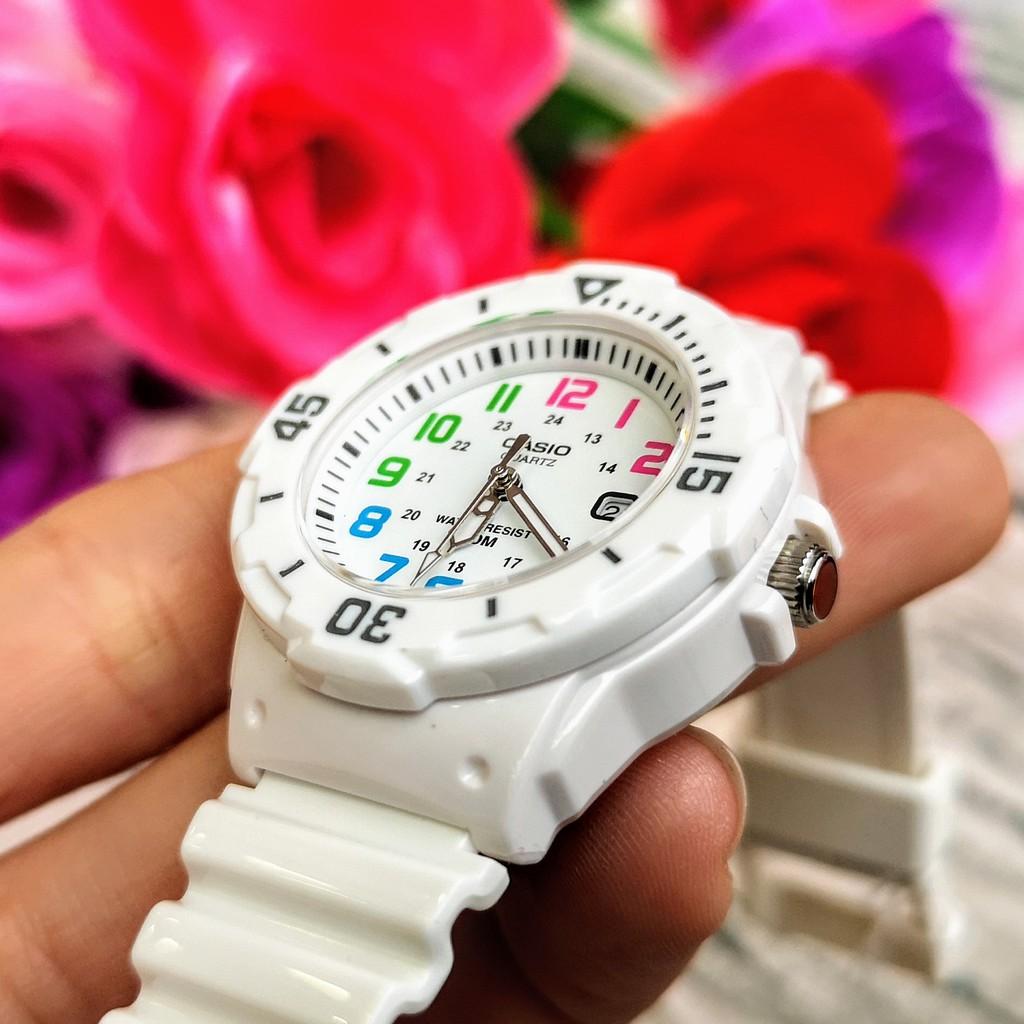 Đồng hồ nữ CASl0 LRW-200H-7BVDF Dây nhựa