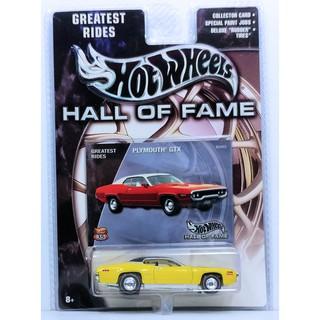 Xe mô hình 1:64 Hot Wheels Hall of Fame – Plymouth GTX
