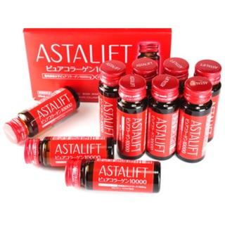 Astalift Drink Pure Collagen 10,000 -thức uống bổ xung 10,000mg collagen tinh khiết thumbnail