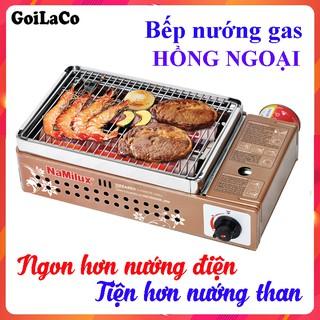 Bếp nướng gas mini hồng ngoại Namilux NA-24N, GM 2120PS, Bếp nướng ngoài trời Namilux, An toàn sử dụng đa năng