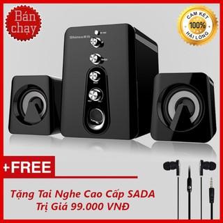 {Video Review} Bộ Loa Máy Vi Tính Để Bàn Gaming 2.1 Âm Thanh 3D Shinco HC-807 + Tặng Tai Nghe Nhét Tai Cao Cấp