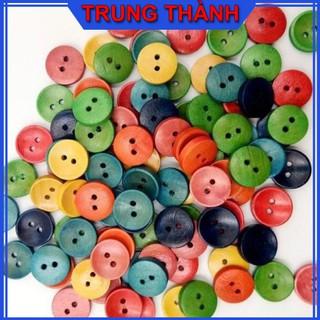 Nút Áo Nhựa 2 Lỗ Size 10mm nhiêu màu sắc