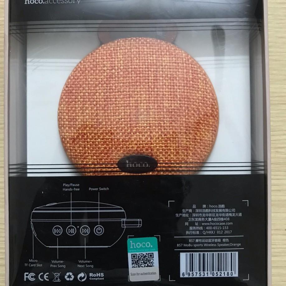 Loa Bluetooth Chống Nước Hoco BS7 - Hàng Chính Hãng