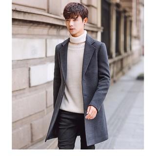 Áo khoác dạ nam phong cách đẹp