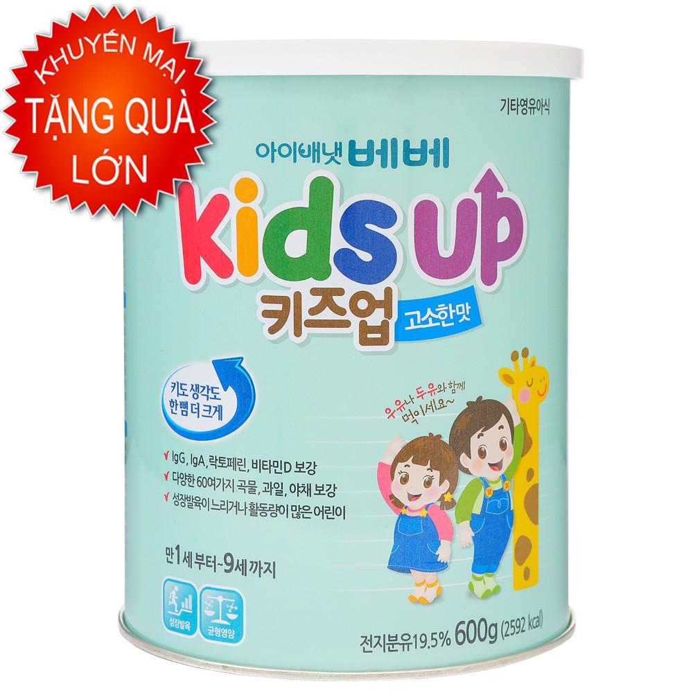 Sữa Kids Up 600g vị hạnh nhân (korea)