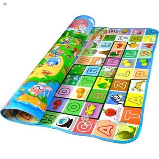[ĐẶC BIỆT]Thảm chơi 2 mặt cho bé Maboshi 1m8 x 2m. Chất liệu cotton mút cao cấp