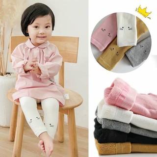 Quần tất cho bé lụa mỏng hình mèo - Tất quần da chân trẻ em - Quần tất giấy cho bé