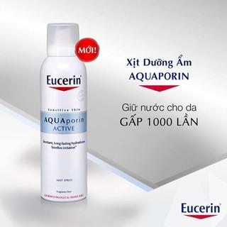 Xịt khoáng dưỡng ẩm chống lão hóa Eucerin AQUAporin Active 150ml