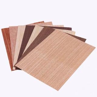 Giấy gỗ dán tường bàn cát mô hình vỏ cây giấy dán vật liệu trong nhà veneer gỗ dăm sàn giấy dán thumbnail