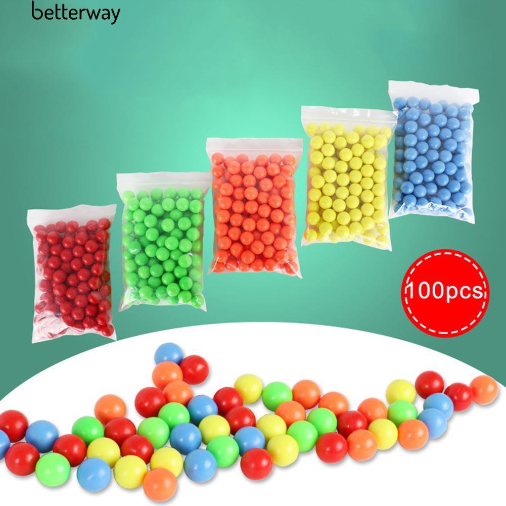 Set 100 quả bóng bằng nhựa kích thước 15mm dành cho bé