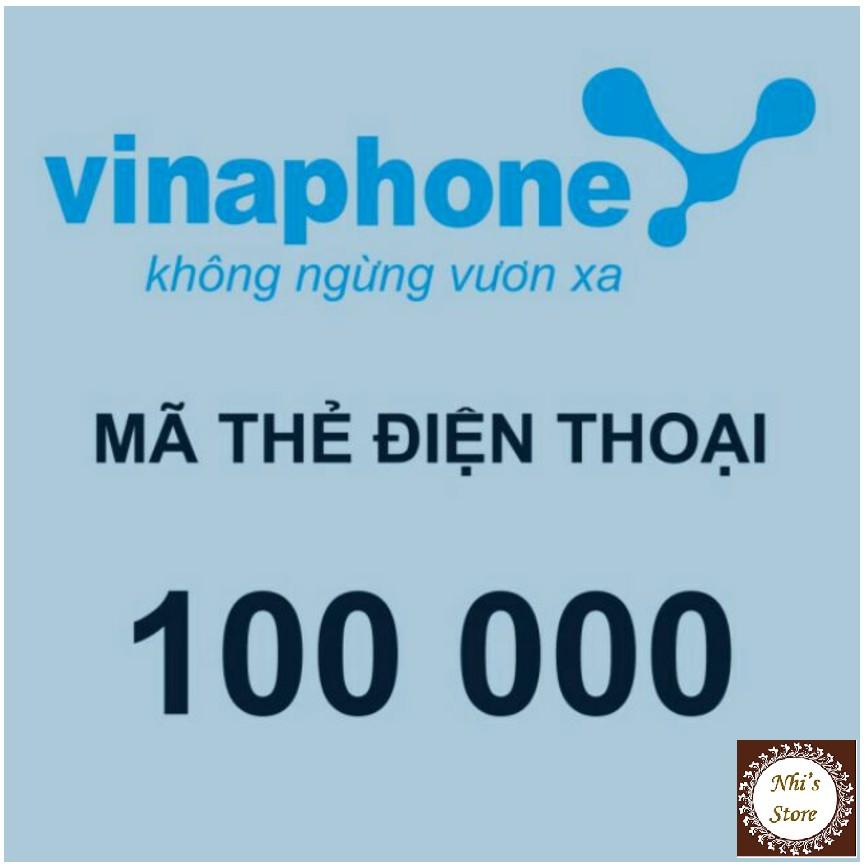 Mã thẻ Vina 100k (Vinaphone 100.000đ)