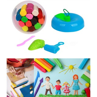 14Pcs Kids Play Dough Doh Clay Modeling Cutter Tool Toy