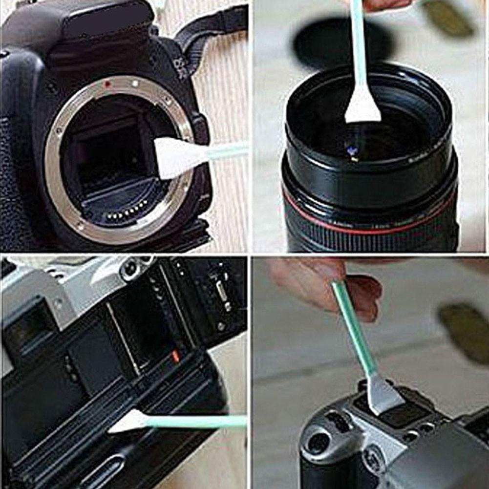 Cleaner Swab Sensor Cleaning Swab Soft 6pcs Cotton CMOS CCD SLR