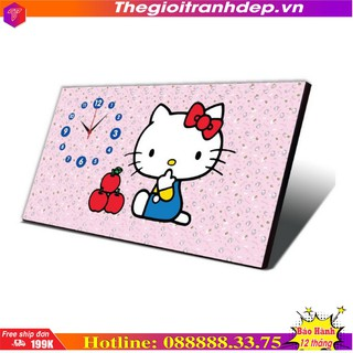 Đồng hồ bàn - Đồng hồ bàn mèo Hello Kitty