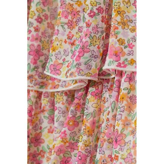 Váy bé gái hoa nhí  nhẹ nhàng siêu xinh xắn sz 9-10y