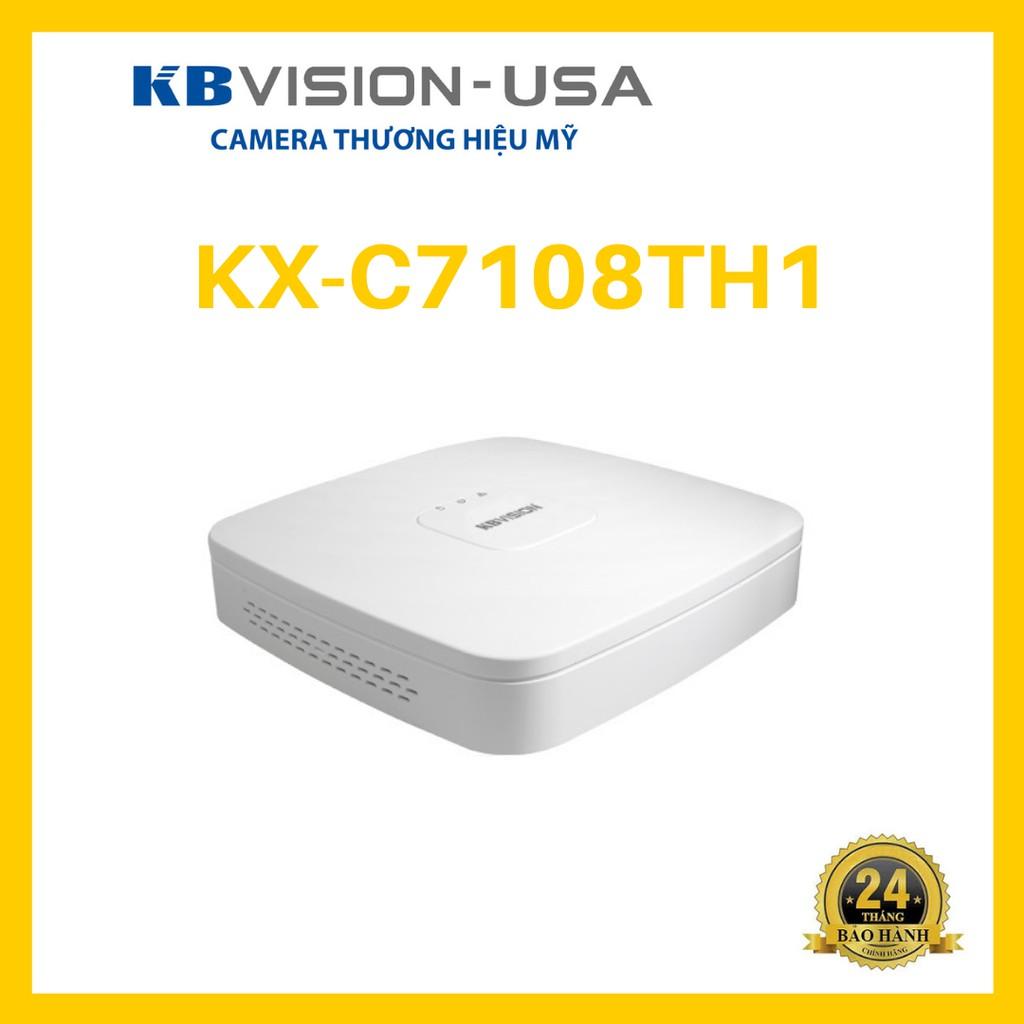 Đầu ghi hình 8 kênh 5 in 1 KBVISION KX-C7108TH1