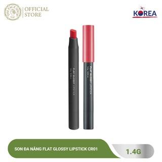 Son Đa Năng TheFaceShop Flat Glossy Lipstick 1.4G