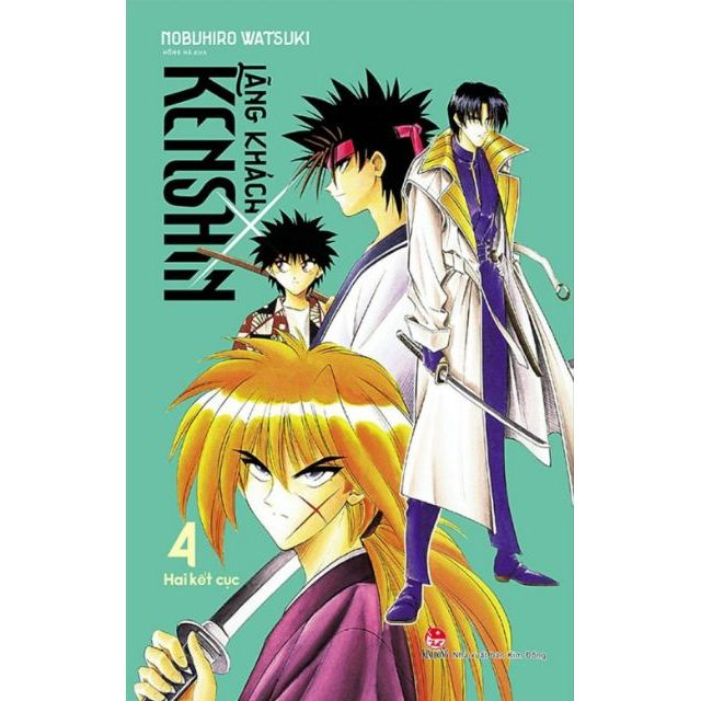 Sách - Lãng khách Kenshin (cập nhật đến tập 4)