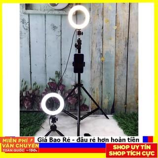 """Siêu sale"""" Đèn Livestream 26cm Full Bộ Gồm Chân Đèn Và Giá Đỡ Điện Thoại, Hỗ Trợ Bán Hàng, Make Up, Nối Mi"""