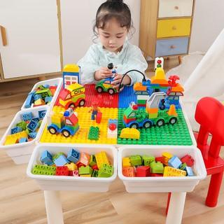 Bộ Bàn Lego Thông Minh Cỡ Lớn Nhiều Công Dụng Cho Bé
