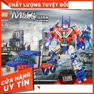 [HOT] Lego MG-88001 Lắp Ráp Robot Optimus hoặc Xe Tải 2 in 1 ( 450 Mảnh )