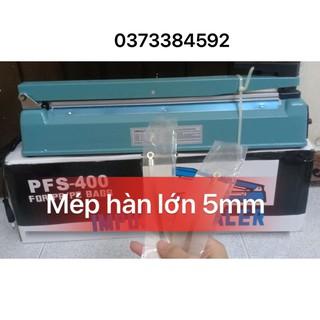 [ PFS40cm *5MM ]Máy hàn miệng túi size 40cm MÉP HÀN TO 5mm Máy ép miệng túi bóng,Máy hàn miệng túi zipper ,Máy ép miệng