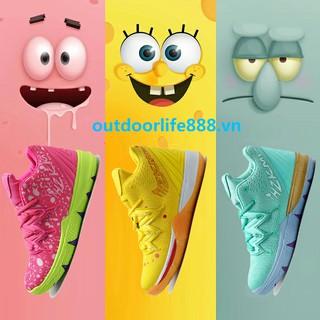 Giày bóng rổ Kyrie Irving 5 SpongeBob size 36-46 thời trang