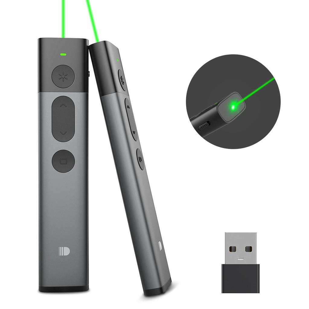 [Mã ELFLASH11 hoàn xu 10K đơn 20K] Bút laser thuyết trình không dây sạc điện