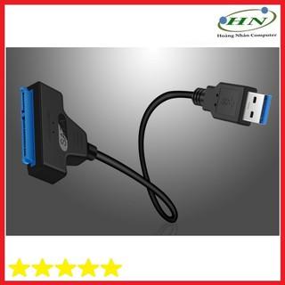 [Mã ELFLASH5 giảm 20K đơn 50K] Cáp Chuyển Đổi Ổ Cứng USB3.0 SATA Sang Cáp USB Hỗ Trợ 2.5 Inch-C3