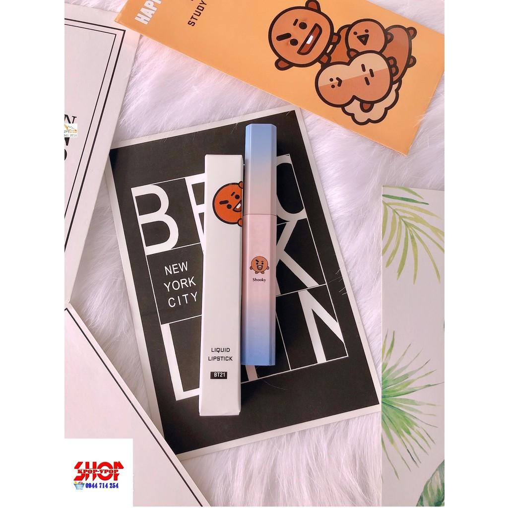 [Miễn Ship] Son BT21 Handmade dễ thương chất lượng
