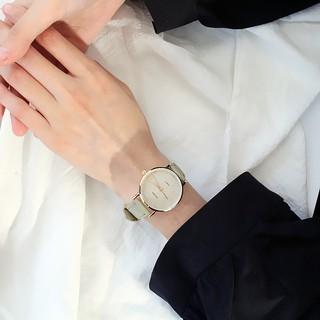 Đồng hồ cặp đôi nam nữ đẹp phong cách Hàn Quốc DH85