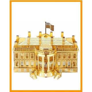 Mô hình lắp ráp kim loại Nhà Trắng, phủ Tổng thống Mỹ Piececool P010-G
