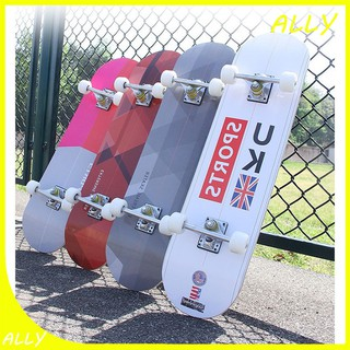Ván trượt skateboard thể thao chất liệu gỗ phong ép cao cấp 7 lớp tải trọng 200kg mặt nhám đá kim cương