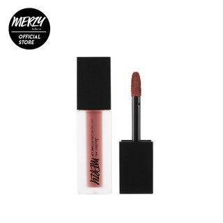 Son tint lì Merzy Off The Record Fitting Lip màu hồng nude F6 - Freedom Rose 1,8g