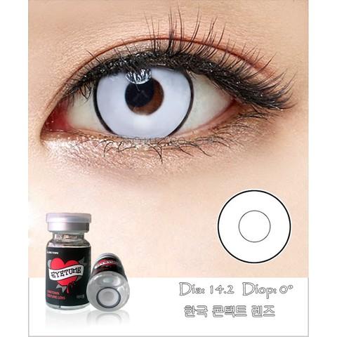 Lens Cosplay EyeTume- 4 màu YELLOW-RED-WHITE-WHITE có viền