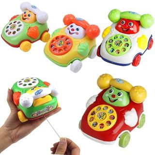 Toy car phone wire intellectual development