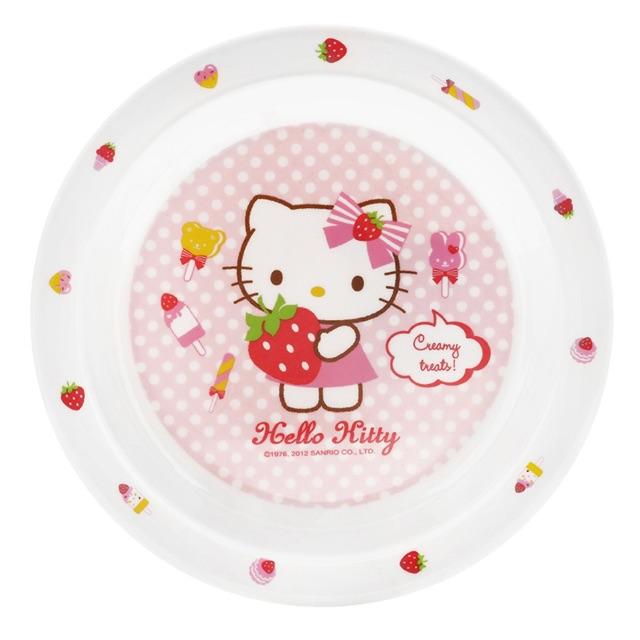 Đĩa Tròn Bằng Nhựa Lock&Lock Hello Kitty LKT460 (Ø19 x 2.2 cm)