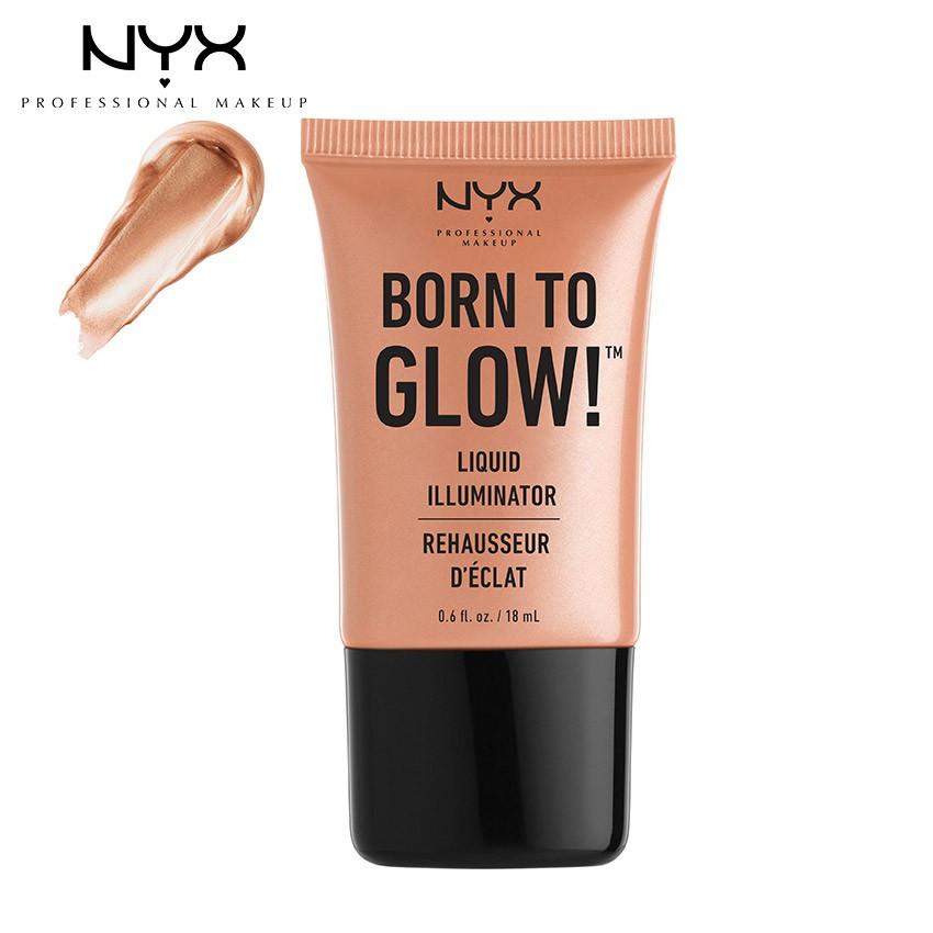 Kem bắt sáng NYX Professional Makeup Born To Glow™ Liquid Illuminator LI02 Gleam - 18 ml_80089781844 - 3496985 , 757647445 , 322_757647445 , 250000 , Kem-bat-sang-NYX-Professional-Makeup-Born-To-Glow-Liquid-Illuminator-LI02-Gleam-18-ml_80089781844-322_757647445 , shopee.vn , Kem bắt sáng NYX Professional Makeup Born To Glow™ Liquid Illuminator LI02 Gl