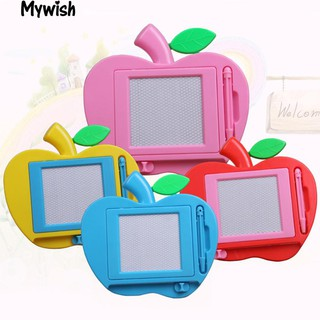 👶🏼Child Educational Toy Erasable Magnetic Apple Drawing Doodle Board Sketcher
