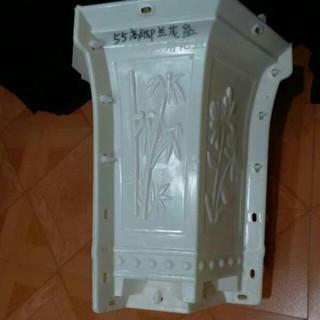 Khuôn chậu cây cảnh nhựa ABS dạng ống rông 35 cao 45 cm