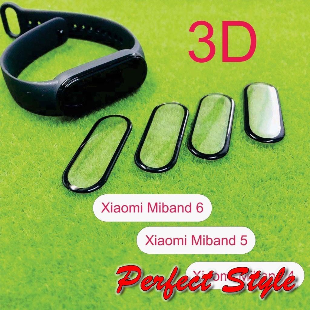 Miếng dán 3D màn hình cho Xiaomi miband 4 5 Miband 6 full màn