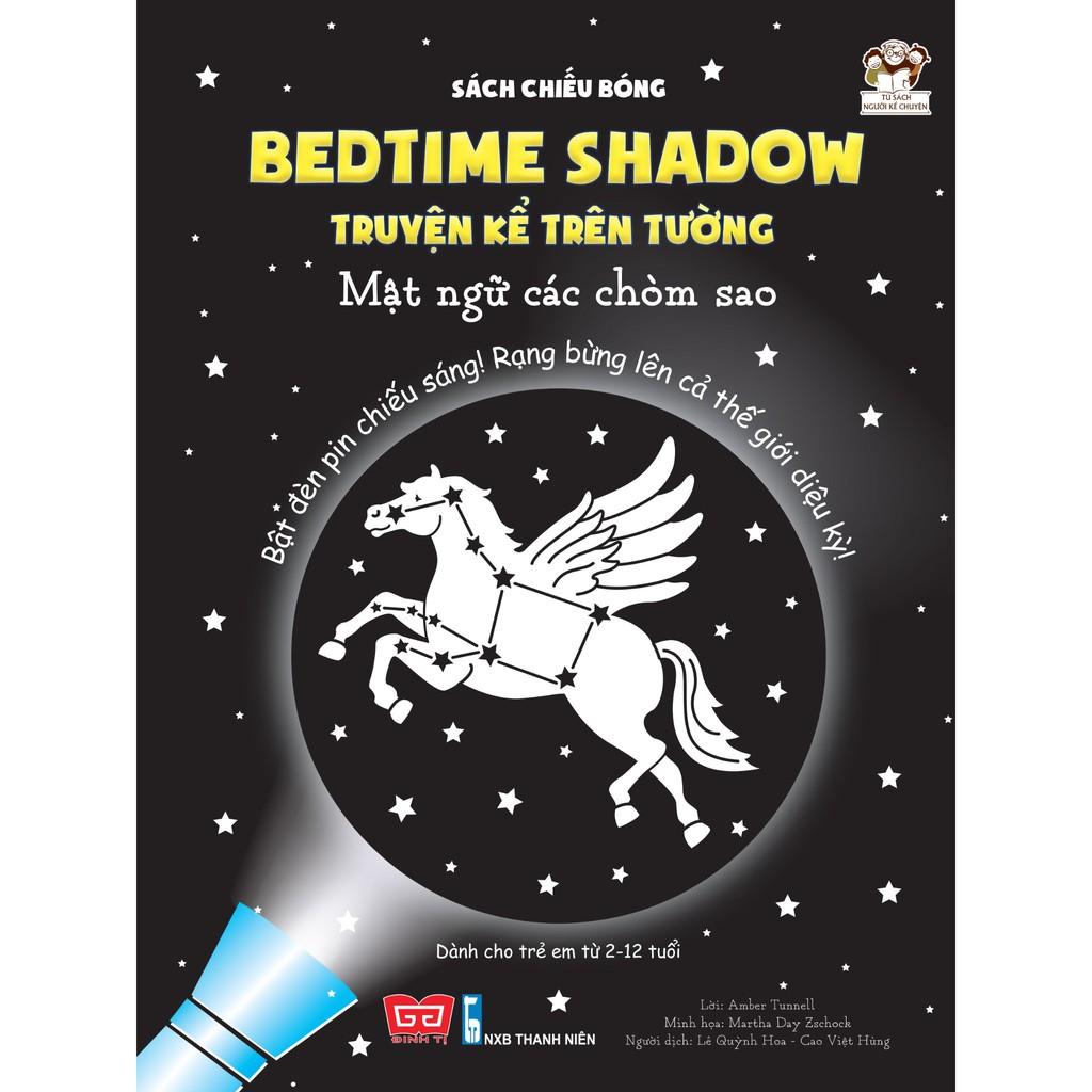 Sách chiếu bóng - Bedtime shadow – Truyện kể trên tường - Mật ngữ các chòm sao