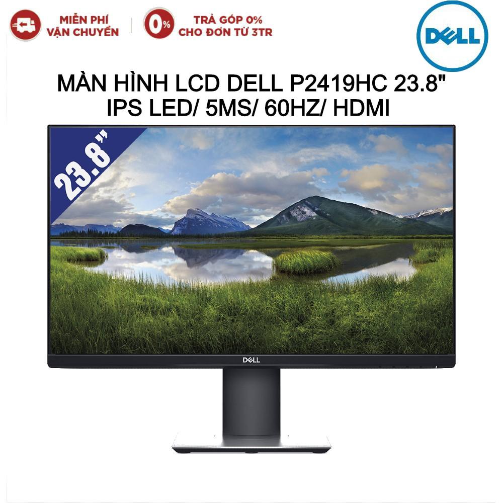 """Màn hình LCD DELL P2419H 24"""" 1920x1080/IPS/60Hz/5ms - Hàng chính hãng new 100% (BH 36T)"""