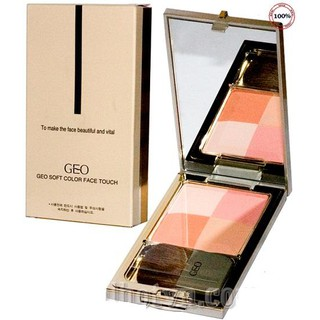 Phấn má hồng GEO Soft Color Face Touch - Hàn Quốc thumbnail