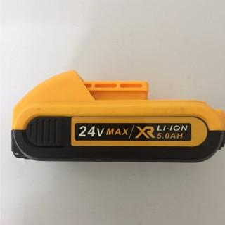 [Chuẩn pin 5 cell- 5.0Ah]Pin máy Khoan Dewalt 24V