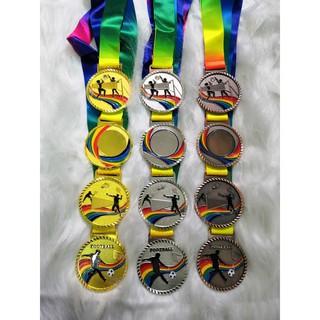 [Mã FASHIONFREE10 giảm 10K đơn 20K] Huy chương thể thao bóng đá, bóng chuyển, cầu lông giá rẻ cao cấp
