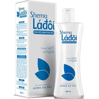 Sữa vệ sinh phụ nữ Shema Lá đôi - Thoáng sạch, hết ngứa 4