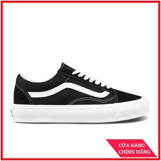 Giày Sneaker [REAL] Vans-Old-Skool-Vault-LX-Black