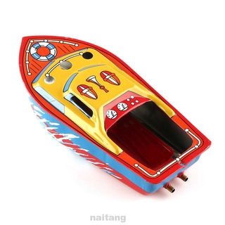 Classic Collection Colorful Educational Experimental Kids Children Retro Steam Candle Boat